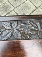 Carved Oak Table c.1880 (4 of 6)