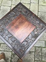 Carved Oak Table c.1880 (2 of 6)