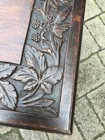 Carved Oak Table c.1880 (5 of 6)