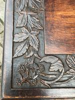 Carved Oak Table c.1880 (3 of 6)