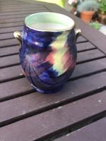 Maling 'Storm' Pattern Vase