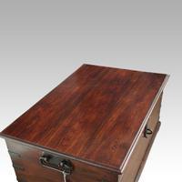 Antique Teak Merchant Chest (10 of 12)