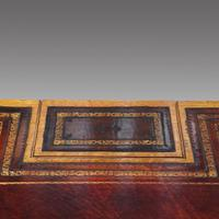 Victorian Oak Writing Table (10 of 15)