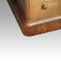 Victorian Oak Partners Desk (9 of 14)