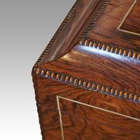 Regency Brass Inlaid Work Table (5 of 14)