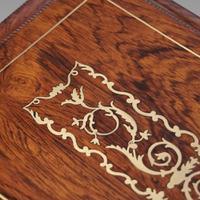 Regency Brass Inlaid Work Table (7 of 14)
