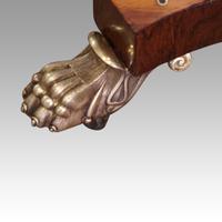 Regency Brass Inlaid Work Table (9 of 14)