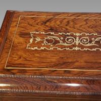 Regency Brass Inlaid Work Table (13 of 14)