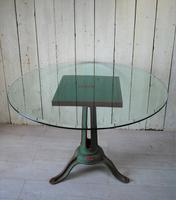 Industrial Iron Garden Centre Table c.1890