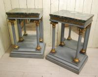 Pair of Italian Console / Pier Tables c.1890