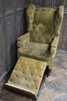 Foots Patent Reclining Chair c.1890 (2 of 9)