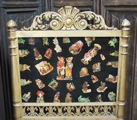 Carved Giltwood Firescreen c.1900 (2 of 4)