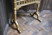 Carved Giltwood Firescreen c.1900 (3 of 4)