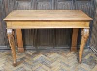 Antique Oak Console Hall Table c.1850