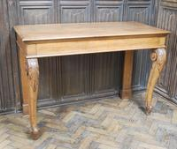 Antique Oak Console Hall Table c.1850 (8 of 9)
