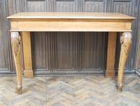 Antique Oak Console Hall Table c.1850 (9 of 9)