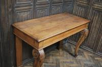 Antique Oak Console Hall Table c.1850 (5 of 9)