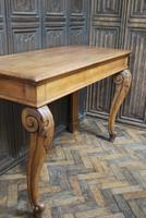 Antique Oak Console Hall Table c.1850 (2 of 9)
