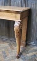Antique Oak Console Hall Table c.1850 (7 of 9)