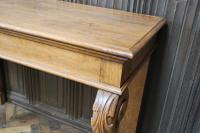 Antique Oak Console Hall Table c.1850 (3 of 9)