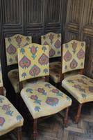 Set of Eight Tapestry Dining Chairs (2 of 9)