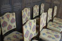 Set of Eight Tapestry Dining Chairs (4 of 9)