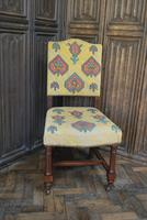 Set of Eight Tapestry Dining Chairs (5 of 9)