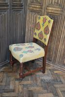 Set of Eight Tapestry Dining Chairs (6 of 9)