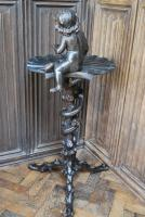 Antique Italian Grotto Occasional Tripod Table (6 of 7)