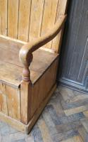 Antique English Pine Settle (5 of 7)