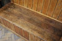 Antique English Pine Settle (6 of 7)