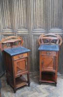 Pair of Art Nouveau Bedside Cabinets (3 of 7)