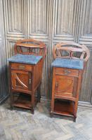 Pair of Art Nouveau Bedside Cabinets (4 of 7)