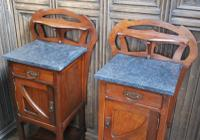 Pair of Art Nouveau Bedside Cabinets (5 of 7)