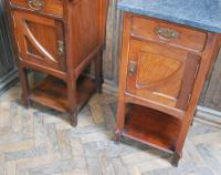 Pair of Art Nouveau Bedside Cabinets (6 of 7)
