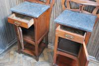 Pair of Art Nouveau Bedside Cabinets (7 of 7)