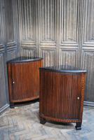 Pair of Dutch Corner Cabinets
