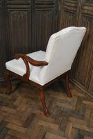 Antique Gainsborough Style Open Armchair c.1860 (3 of 6)