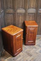 Pair of Mahogany Bedside Cabinets / Nightstands (2 of 7)