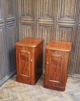 Pair of Mahogany Bedside Cabinets / Nightstands (3 of 7)