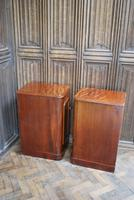 Pair of Mahogany Bedside Cabinets / Nightstands (6 of 7)