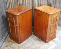 Pair of Mahogany Bedside Cabinets / Nightstands (7 of 7)