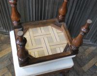 Near Pair of English Upholstered Foot Stools (7 of 7)
