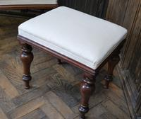 Near Pair of English Upholstered Foot Stools (4 of 7)