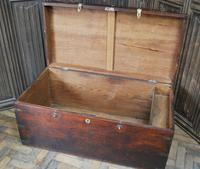 Antique Indian Teak Campaign Box (7 of 9)