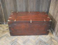 Antique Indian Teak Campaign Box (9 of 9)
