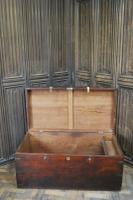 Antique Indian Teak Campaign Box (8 of 9)