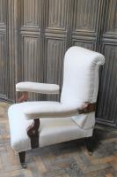 Antique Scottish Upholstered Reclining Armchair (2 of 8)