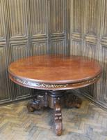 Chinese Solid Rosewood Centre Table (2 of 15)