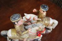 Pair of Chinese Painted Figures On Horseback (5 of 6)